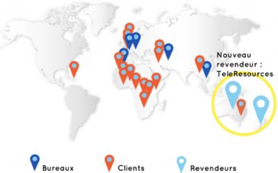TeleResources devient revendeur de ClickOnSite en Australie et Nouvelle Zélande