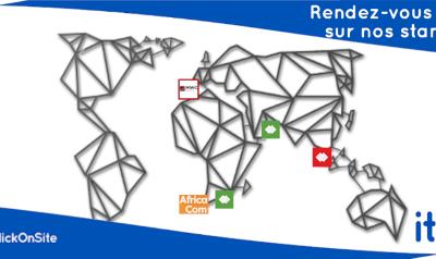 Retrouvez ClickOnSite aux TowerXchange Meetups, AfricaCom et MWC !
