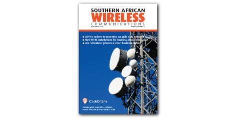 ClickOnSite en couverture du dernier numéro de Southern African Wireless Communications !