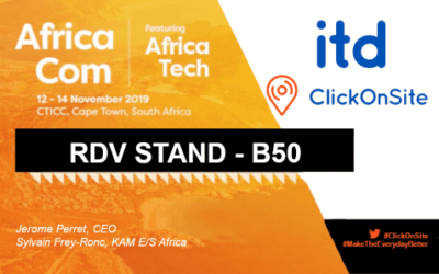 AfricaCom 2019 : Retrouvez ITD au Pavillon French Tech – Business France (stand B50)