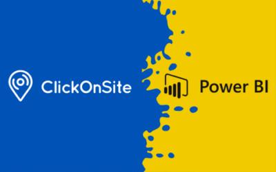 ClickOnSite s'interface à Power BI pour compléter ses capacités de reporting
